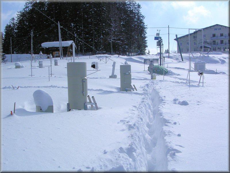 Site Nivo Météorologique Du Col De Porte Centre National